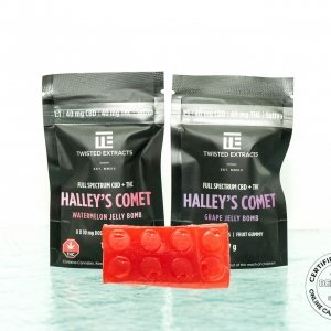 Jelly Bombs Halley's Comet
