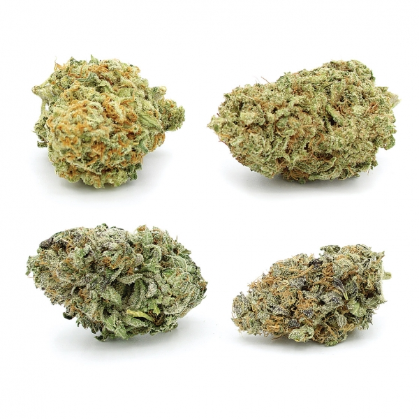THC Delivery A+ Flower Variety Pack