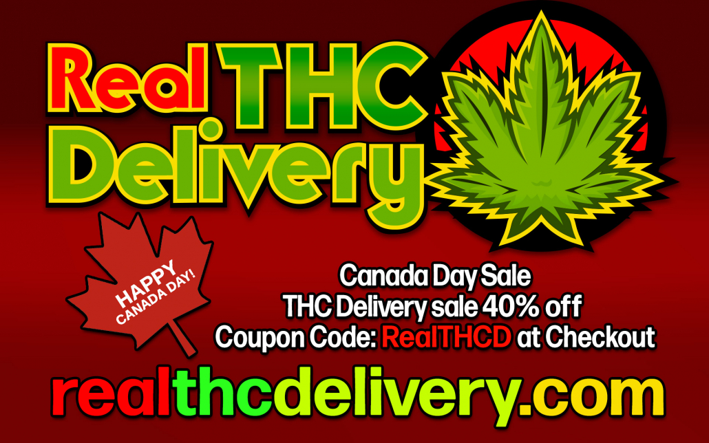 Canada day -THCDelivery