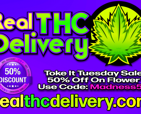 50% Off Monday Tuesday Sale - THC Delivery