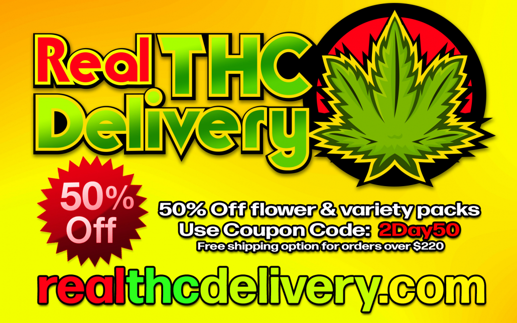 50% Off weekend - THC Delivery
