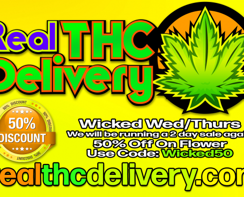 50% Off wicked Sale - THC Delivery