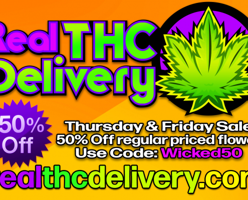 50% Off thurs fri Sale - THC Delivery