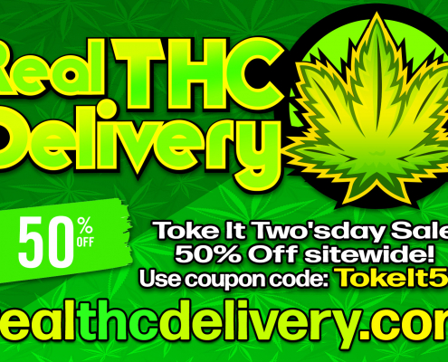 50% Off tues wed Sale - THC Delivery