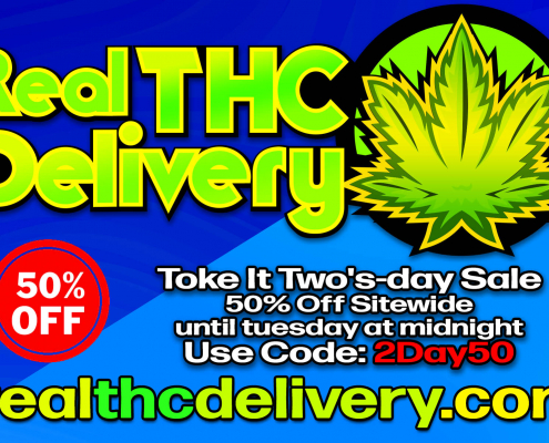 50% Off two'sday Sale - THC Delivery