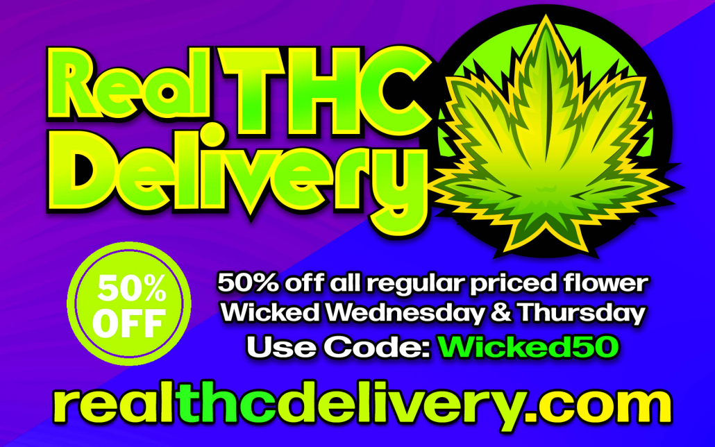 50% Off wed thurs Sale - THC Delivery