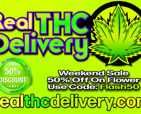 50% Off week end Sale - THC Delivery